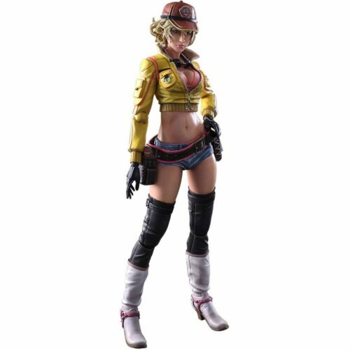 Play Arts Kai: Final Fantasy XV – Cindy Aurum Action Figure, 20cm