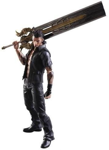 Play Arts Kai: Final Fantasy XV – Gladiolus Amicitia Action Figure, 24cm