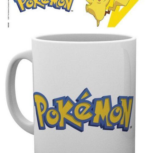 Pokemon – Logo and Pikachu Mug, 300ml
