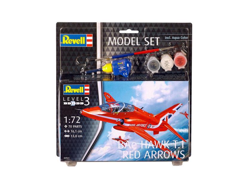 Revell Model Set BAe Hawk T.1 Red Arrows 1:72