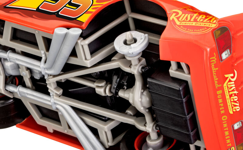 Revell Plastic Model Lightning McQueen 1:24 Easy-Click