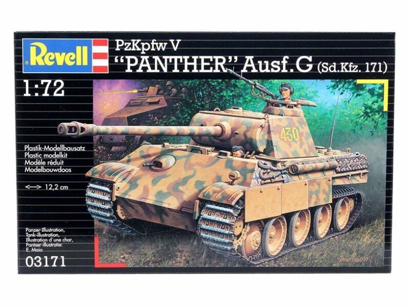 Revell plastic model PzKpfw. V Ausf. G `Panther`  1:72