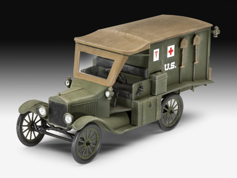 Revelli plastic model T 1917 Ambulance Scale: 1:35