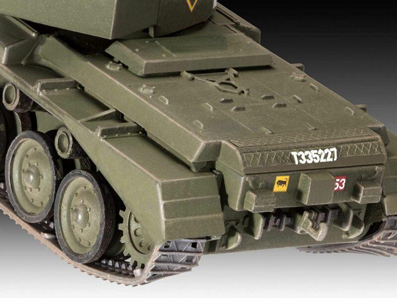 Revell plastic model A-34 komeet Mk.1 1:76