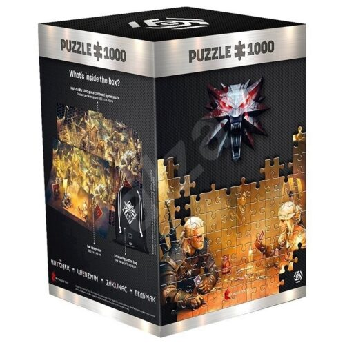 Good Loot Puzzle: Witcher – Playing Gwent, 1000 Pieces