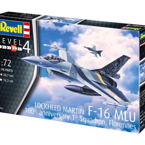 "Revell plastic model F-16 Mlu""100th Anniversary"" 1:72"