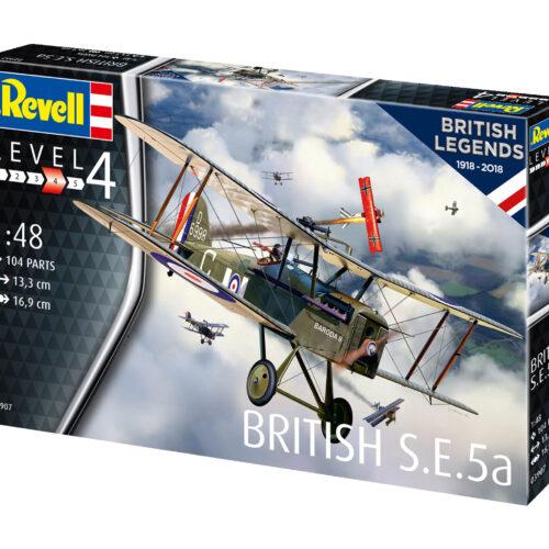 Revell plastic model 100 Years RAF: British S.E. 5a 1:48