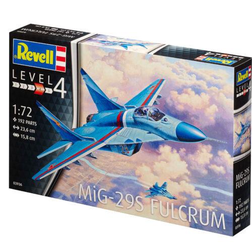 Revell plastic model MiG-29S Fulcrum 1:72