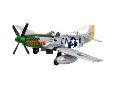 Revell plastic model P-51 D Mustang  1:72