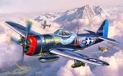 Revell plastic model P-47 M Thunderbolt 1:72