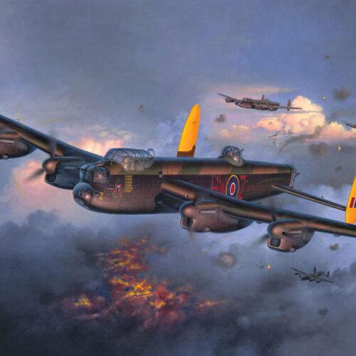 Revell plastic model Avro 683 Lancaster Mk.I/III 1:72