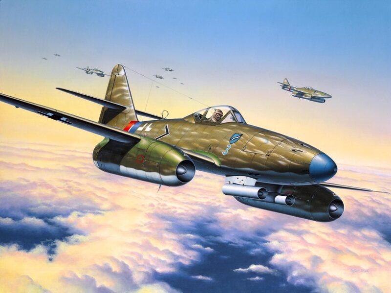 Revell plastic model Messerschmitt Me 262 A-1a  1:72