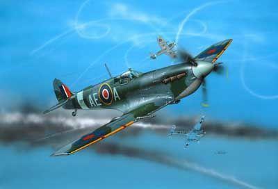 Revell plastic model Supermarine Spitfire Mk. V  1:72
