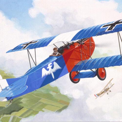Revell plastic model Fokker D VII  1:72