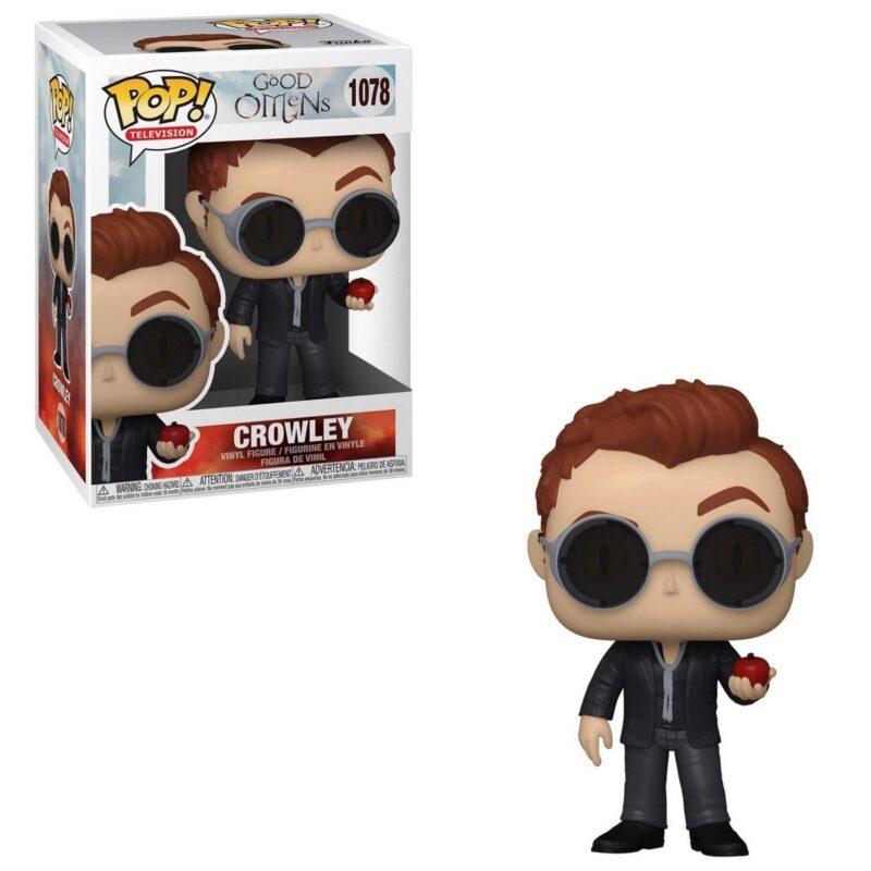 POP! Television: Good Omens – Crowley Vinyl Figure