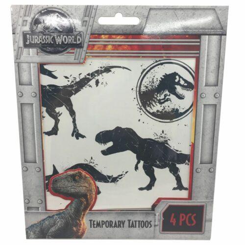 Jurassic Park Temp Tattoos S-T
