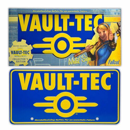 Fallout 'Vaul-Tec'Ā Metal sign