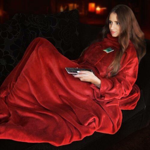 Snugs Deluxe – Red Blanket