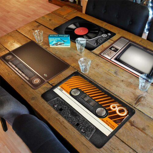 Retro Placemats – Set of 4