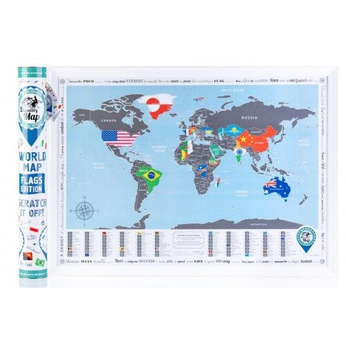 Discovery Map Flags Edition