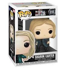 POP! Marvel: The Falcon  Winter Soldier – Sharon Carter Vinyl Figure