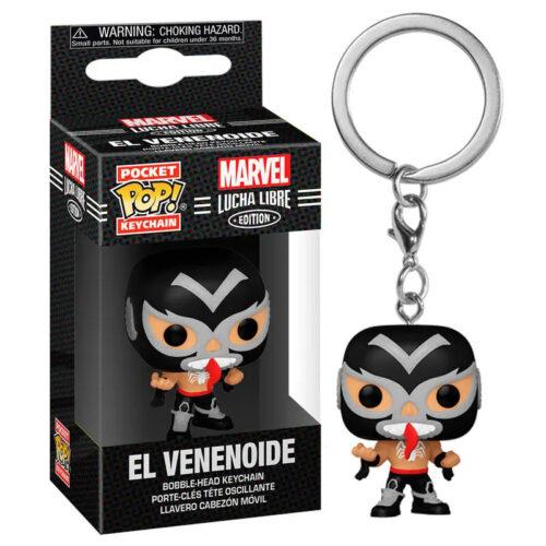 POP! Pocket Keychain: Marvel Lucha Libre Edition – El Venenoide