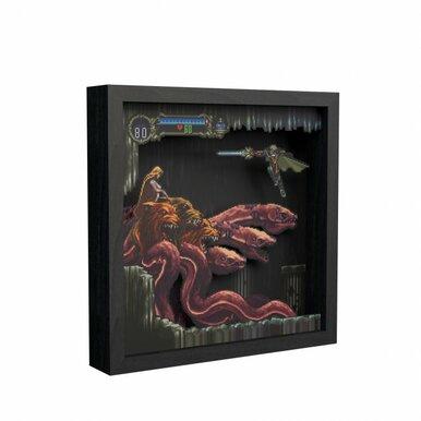 Pixel Frames Castlevania SOTNScylla