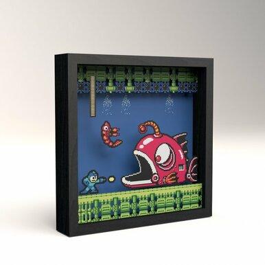 Pixel Frames Megaman 2 Lantern Fish