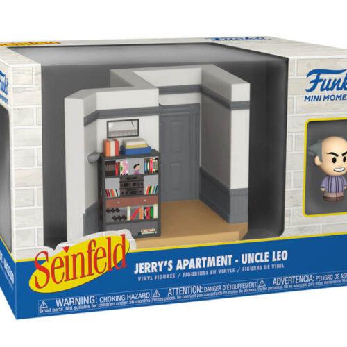 Funko Mini Moments Seinfeld: Jerrys Apartment – Uncle Leo* Diorama Vinyl Figures