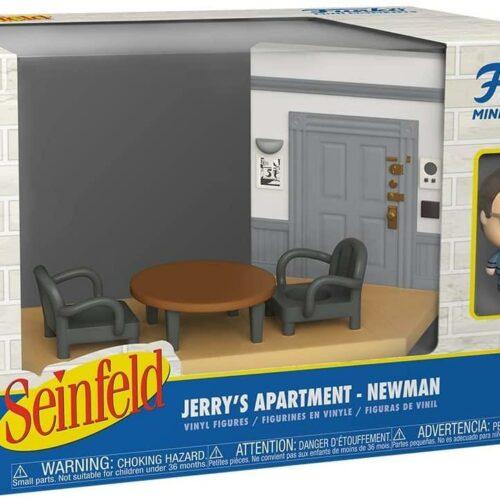 Funko Mini Moments Seinfeld: Jerrys Apartment – Newman* Diorama Vinyl Figures