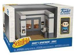 Funko Mini Moments Seinfeld: Jerrys Apartment – Jerry* Diorama Vinyl Figures