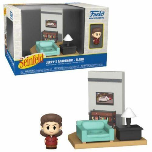Funko Mini Moments Seinfeld: Jerrys Apartment – Elaine* Diorama Vinyl Figures