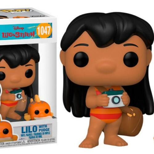 POP! Disney: Lilo  Stitch – Lilo with Pudge Vinyl Figure