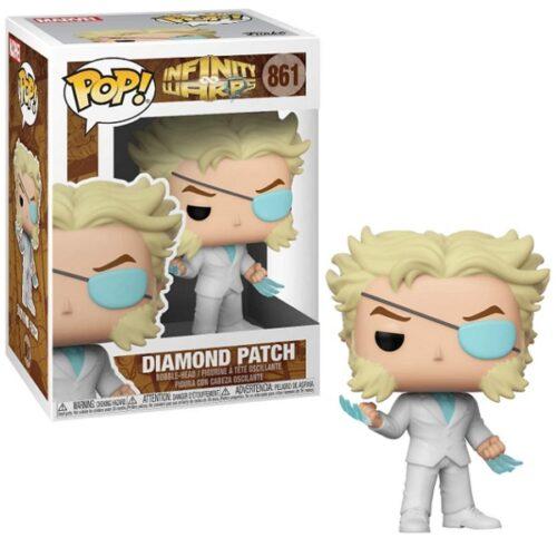 POP! Marvel: Infinity Warps – Diamond Patch Bobble-Head Figure