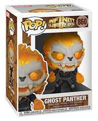 POP! Marvel: Infinity Warps – Ghost Panther Bobble-Head Figure
