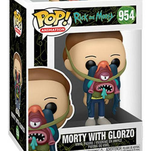POP! Animation: Rick  Morty – Morty with Glorzo Vinyl Figure