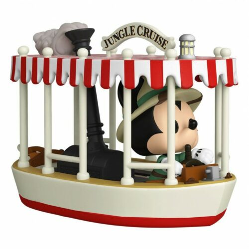 Pop! Rides: The World Famous Jungle Cruise Excursions Departing Daily – Mickey Jungle Cruise Vinyl F