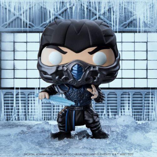 POP! Movies: Mortal Kombat – Sub-Zero Vinyl Figure