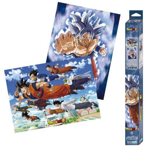 Posters 2-Pack: Dragon Ball Super – Goku & Friends, 52x38cm