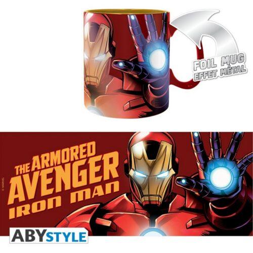 Marvel – Armored Avenger Foil Mug, 460ml