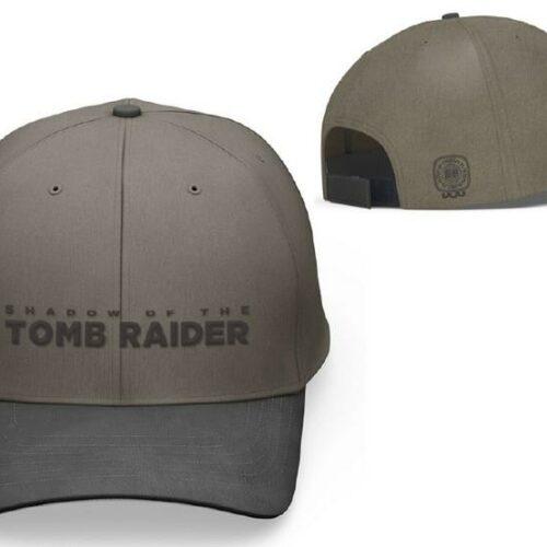 Baseball Cap: Shadow of the Tomb Raider – Logo, Brown/Black