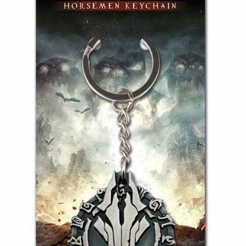 Darksiders – Horsemen Metal Keychain