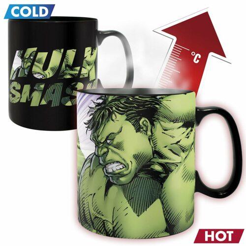 Marvel – Hulk Smash Heat Change Mug, 460ml