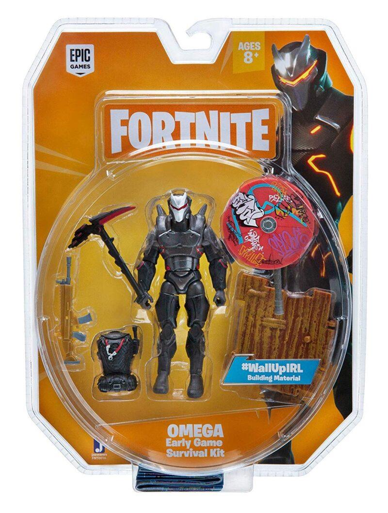 Fortnite: Early Game Survival Kit – Omega Action Figure Pack, 10cm