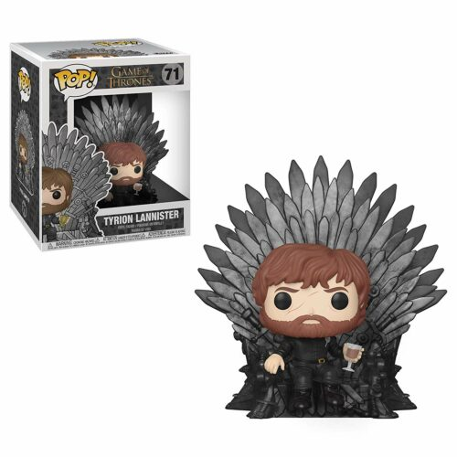 POP! Television: Game of Thrones – Tyrion Lannister Sitting on Throne Deluxe Vinyl Figure