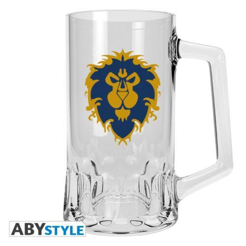 World of Warcraft – Alliance Beer Glass, 500ml