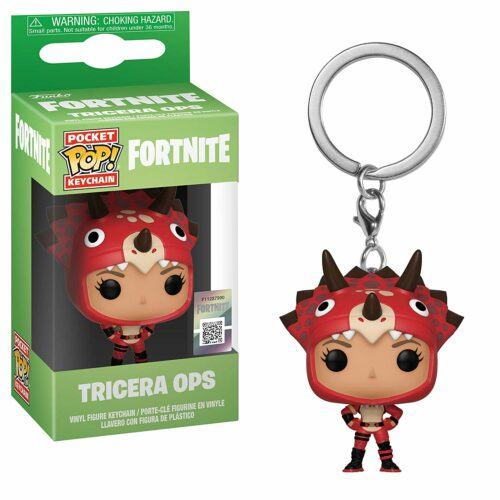 POP! Pocket Keychain: Fortnite – Tricera Ops