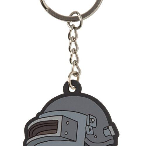 Playerunknown's Battlegrounds – Level 3 Helmet PVC Keychain