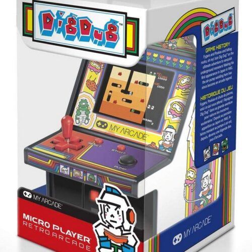 My Arcade – Dig Dug Micro Player Retro Arcade