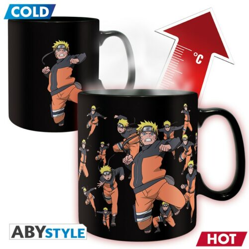 Naruto Shippuden – Multicloning Heat Change Mug, 460ml